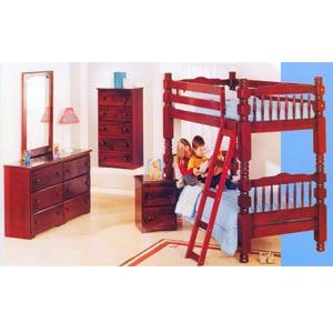 Red Cherry Bunk Bed Set 200-170 (PR)