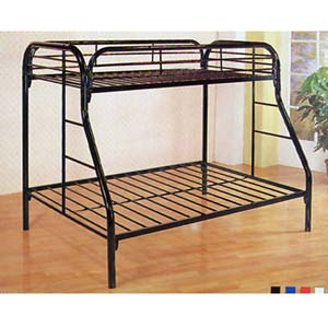 Twin/Full Bunk Bed 7306(ABC)