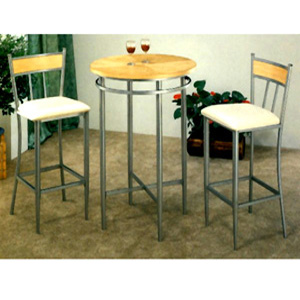 3-Pc Contemporary Bar Set 2089-90 (CO)