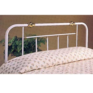 Headboard In White With Gold Details 21_ (CO)