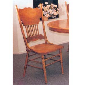 Double Press Back Side Chair 2185C (A)