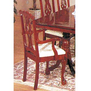 Chippendale Arm Chair 2446 (A)