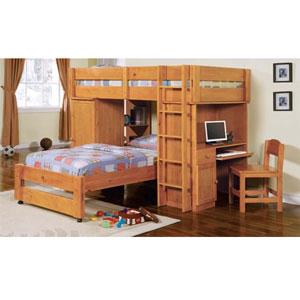 Lars Twin/Twin Loft Bed 2495 (A)