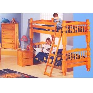 Honey Pine Bunk Bed Set 250-170 (PR)