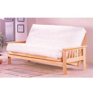 Wood Futon Sofa 2510_ (IEM)