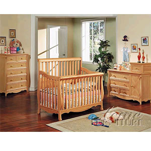 Heartland Crib in Maple Finish 2690 (A)