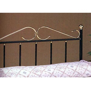 Headboard In Black And Gold 2704_ (COFS35)