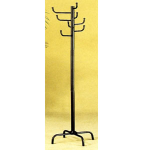 Eight Hook Coat Rack In Black 2711(COFS15)
