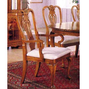 Queen Anne Arm Chair 2929 (A)