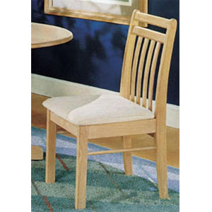 Natural Finish Splat Back Chair 2975 (A)