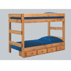 Twin or Full One-Piece Bunk Bed 3011_(PC)