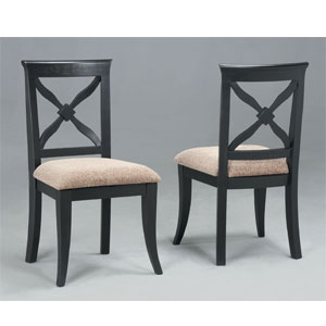 Masterpiece Antique Black Chair 311-257 (PW)
