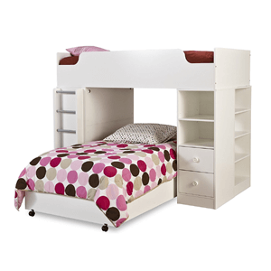 Logik Collection Twin Loft Bed 3359A4(AZFS)