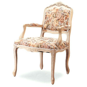Large Italian Provincial Arm Chair 3520 (CO)