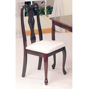 Queen Ann Cherry Finish Chair 6216 (ABCFS15)