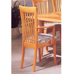 Maple Finish Arm Chair 3577A (IEM)