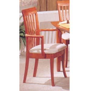 Cherry Finish Arm Chair 3577CA (IEM)