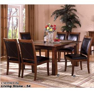 Living Stone Dining Set CM3590T-54_(IEM)