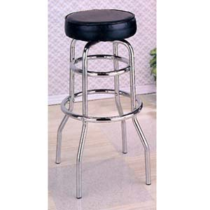 Chrome Swivel Bar Stool (CO)