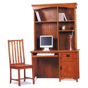 Mission Oak Computer Desk Leick Furniture Corner