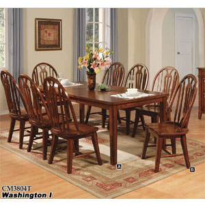 Washington I Dining Set CM3804T/SC (IEM)