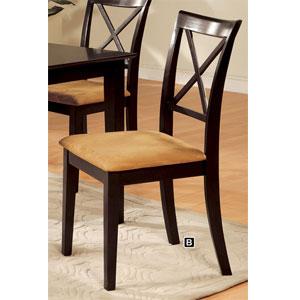 Espresso Finish Side Chair CM3838DK-SC (IEM)
