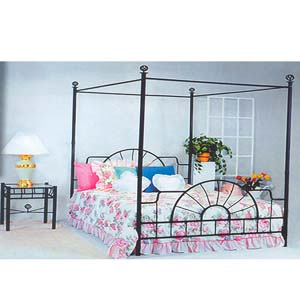 Sunburst Canopy Bed 4010 (ML)