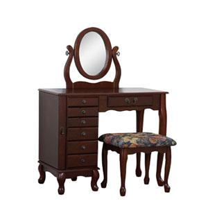 Heirloom Cherry Vanity Set 402 (PW)