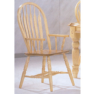 Arrow Back Arm Chair 1263-09 (WD)