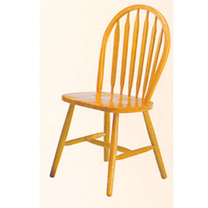 Solid Wood Arrow Back Chair 2482N(A)