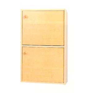 2-Shelf Bookcase With Doors 4215D_  (PJ)