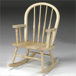 Unfinished Windsor Rocker 425505(CYMFS)