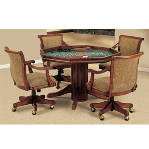 Brandon Warm Cherry Dining/Poker Table 429-207 (PW)