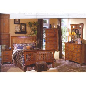 Nebraska Bedroom Set 4314 (WD)
