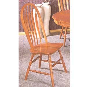 Solid Oak Side Chair 4388AN(CO)