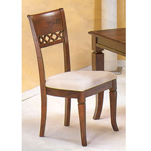 Solid Wood X Back Side Chair 4420 (CO)