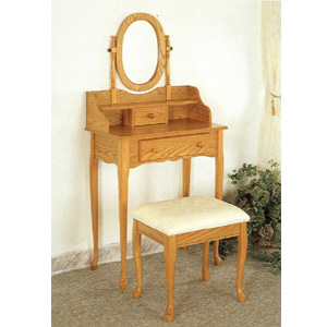 Queen Anne Style Vanity Set 4505(CO)