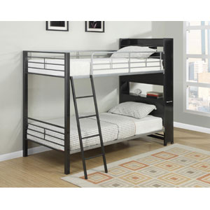 Twin over Twin Multifunctional Bunk Bed 460021(CO)