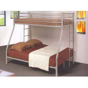 Contemporary Metal Twin/Full Bunk Bed 460062(CO)