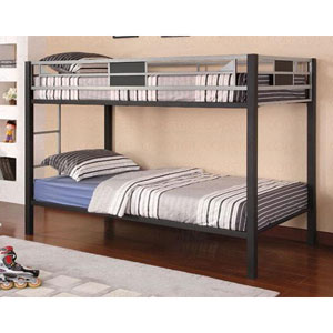 Metal Twin/Twin Bunkbed 460196 (CO)