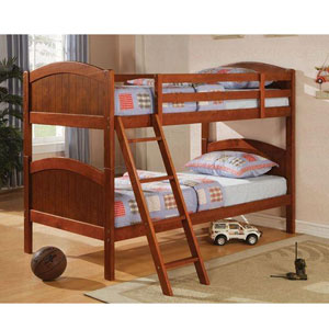 Dark Pine Twin/Twin Bunkbed 460203 (CO)