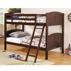 Cappuccino Twin/Twin Bunkbed 460213 (CO)