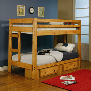 Twin/Twin Bunkbed 460243 (CO)