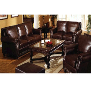 El Dorado Leather Living Room Set 50030_(CO)