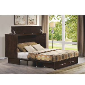 Full Size Creden-ZzZ Cabinet Bed 502-20-A(FUFS)