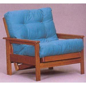 Oak Finish Wood Chair Frame 5077 (WD)
