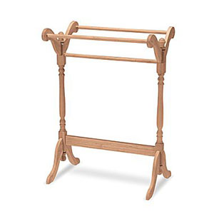 Unfinished Parawood Quilt Rack 52390(OFS)