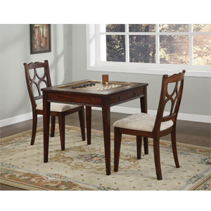 Masterpiece Faux Medium Mahogany Game Table 546-207 (PW)