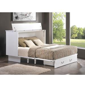 Cottage Flip Top Creden ZzZ Cabinet Bed 553_(FCFS)