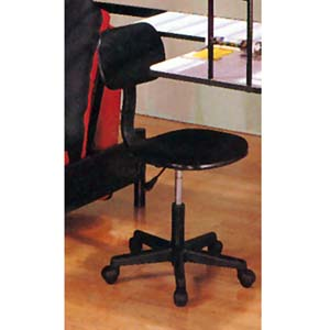 Black Office Chair With Pneumatic Lift 5586B (IEM)